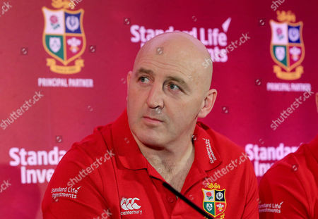 Standard Life Investment ambassador Keith Wood at today's announcement of Standard Life Investments as the Principal Partner and Jersey Sponsor of The British & Irish Lions 2017 Tour to New Zealand.