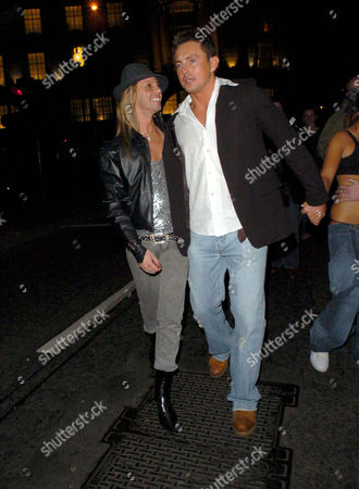 Editorial photo of STARS OUT AND ABOUT IN LONDON, BRITAIN - 06 OCT 2005