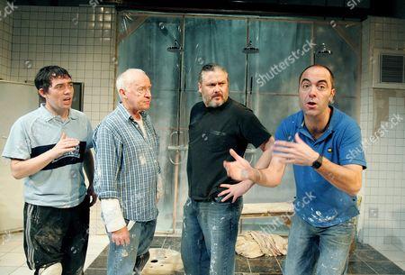 Packy Lee, Jim Norton, Conleth Hill and James Nesbitt