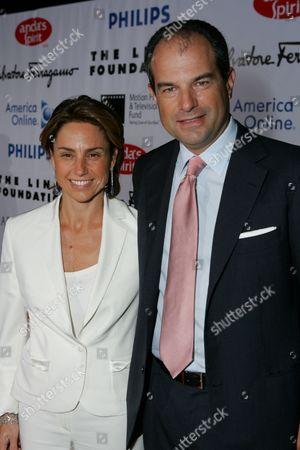 Massimo Ferragamo and wife Chiara Ferragamo