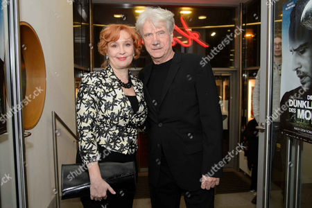 Jurgen Prochnow and wife Verena Prochnow