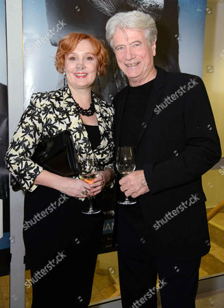Stock Picture of Jurgen Prochnow and wife Verena Prochnow
