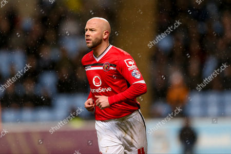 Walsall defender James O?Connor  during the Sky Bet League 1 match between Coventry City and Walsall at the Ricoh Arena, Coventry