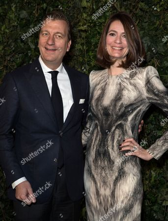 Johan Jervoe (Chief Marketing Officer, UBS) and Plum Sykes