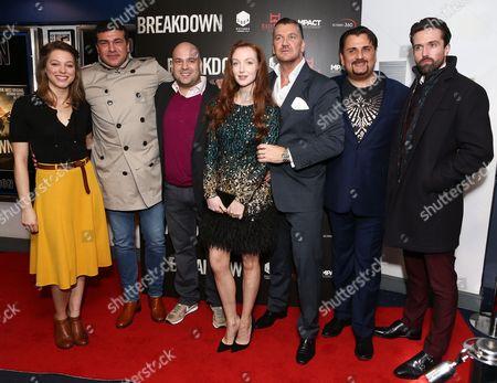 Editorial image of 'Breakdown' film premiere, London, Britain - 12 Jan 2016