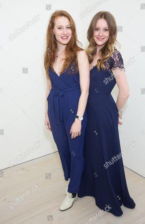 Stock Photo of Lottie Tolhurst & Zoe Richards
