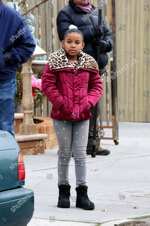 Editorial photo of 'Nicki' TV series on set filming, New York, America - 12 Jan 2016