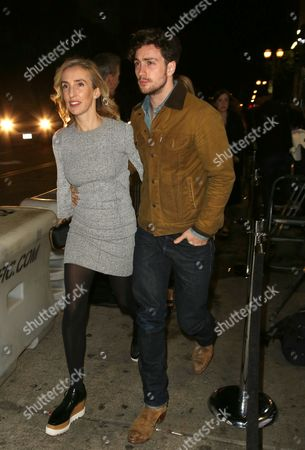 Sam Taylor-Johnson and Aaron Johnson