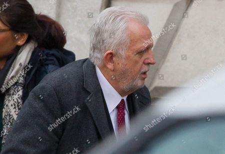 Dr Errol Cornish arriving at Inner London Crown court