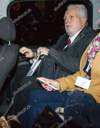 Stock Image of Dr Errol Cornish leaving Inner London Crown court this afternoon.