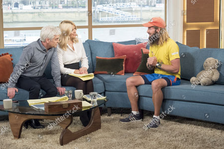 Phillip Schofield, Holly Willoughby and Jamie Ramsey