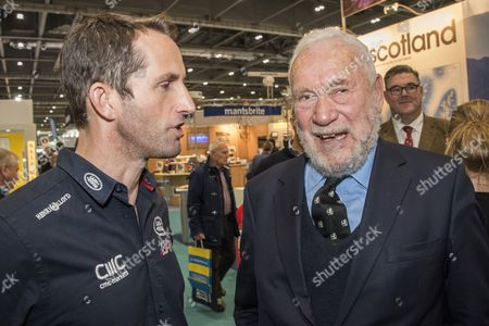 Sir Robin Knox-Johnston meets Sir Ben Ainslie