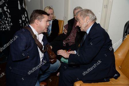 Sir Harold Evans & Guests