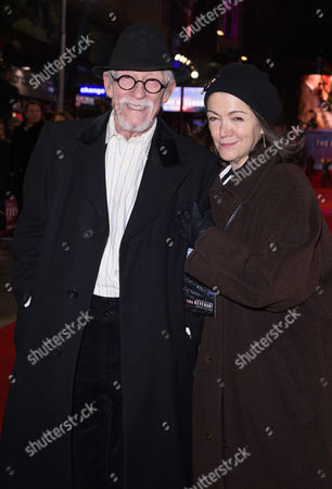 Sir John Hurt and Anwen Rees-Myers