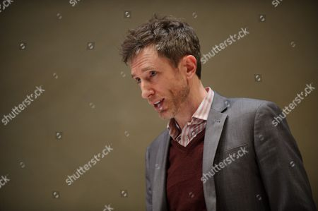 Stock Picture of '4000 Days', by Peter Quilter, at the Park Theatre. Directed by Matt Aston and starring Alistair McGowan ( Michael), Maggie Ollerenshaw (Carol) and Daniel Weyman (Paul)