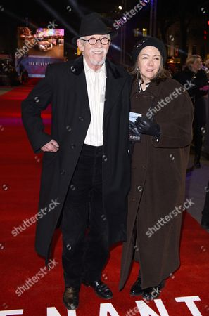 John Hurt with Anwen Rees-Myers