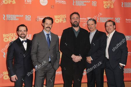 Rob McClure, David Furr, Director Jeremy Herrin, Campbell Scott, Jeremy Shamos