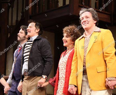 Editorial picture of 'Noises Off' play opening night, New York, America - 14 Jan 2016