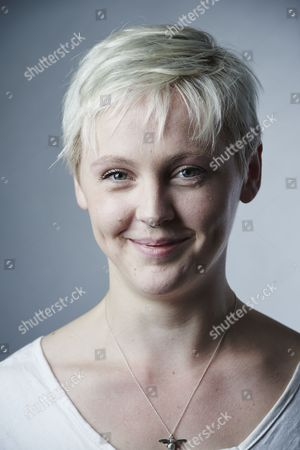 Stock Picture of London United Kingdom - May 25: Portrait Of English Indie Rock Musician Laura Marling Photographed In London On May 25