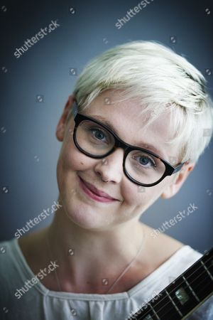 Stock Photo of London United Kingdom - May 25: Portrait Of English Indie Rock Musician Laura Marling Photographed In London On May 25