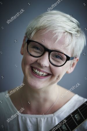 Stock Image of London United Kingdom - May 25: Portrait Of English Indie Rock Musician Laura Marling Photographed In London On May 25
