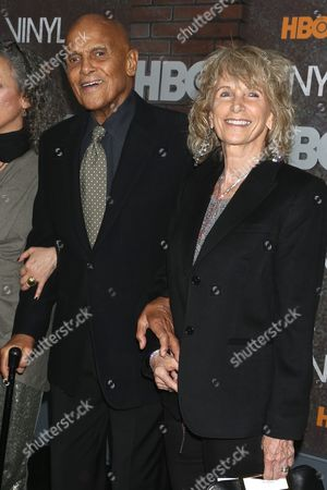 Harry Belafonte and wife Pamela Frank