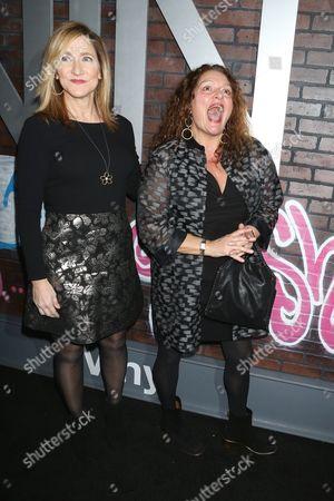 Edie Falco and Aida Turturro