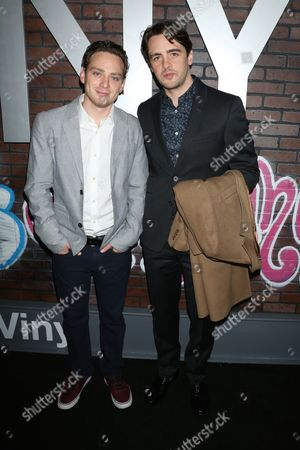 Stock Picture of Michael Drayer and Vincent Piazza