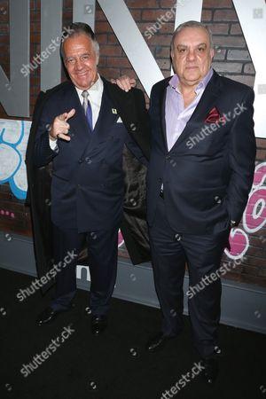Tony Sirico and Vincent Curatola