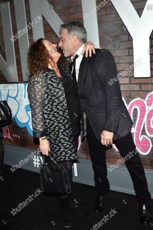 Aida Turturro and John Melfi