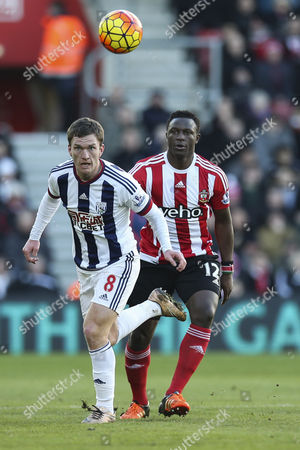 Editorial picture of Southampton v West Bromwich Albion, Great Britain - 16 Jan 2016