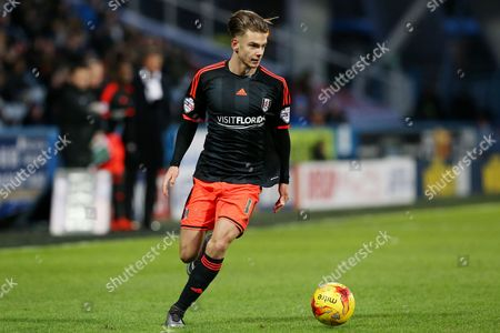 Alex Kacaniklic during the SKY BET Championship match between Huddersfield Town and Fulham played at The John Smiths Stadium, Huddersfield