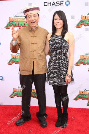 Stock Photo of James Hong, April Hong