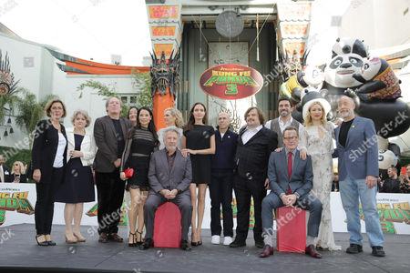 Editorial photo of 'Kung Fu Panda 3' film premiere, Los Angeles, America - 16 Jan 2016