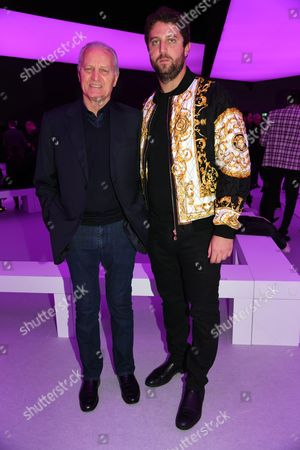 Santo Versace and guest