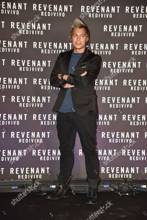 Editorial photo of 'The Revenant' film premiere, Rome, Italy - 15 Jan 2016