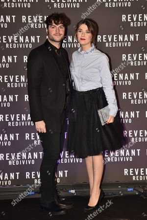 Editorial picture of 'The Revenant' film premiere, Rome, Italy - 15 Jan 2016