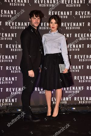 Editorial image of 'The Revenant' film premiere, Rome, Italy - 15 Jan 2016