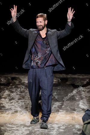 Editorial image of Ermenegildo Zegna show, Autumn Winter 2016, Milan Men's Fashion Week, Italy - 16 Jan 2016