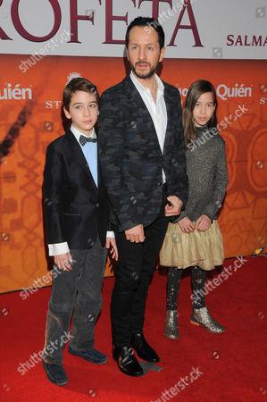 Editorial image of 'El Profeta' film premiere, Mexico City, Mexico - 17 Jan 2016