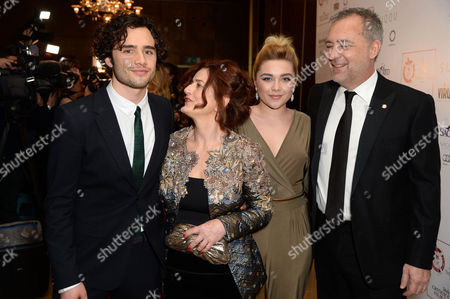 Toby Sebastian, Hilary Oliver, Florence Pugh and Rich Clein