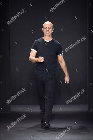 Stock Picture of Italo Zucchelli on the catwalk