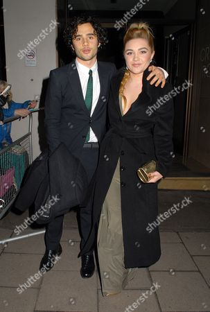 Toby Sebastian and Florence Pugh