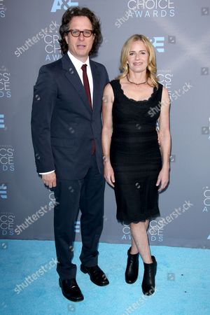Stock Picture of David Guggenheim and Elisabeth Shue