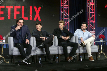Stock Picture of Wagner Moura, Pedro Pascal, Boyd Holbrook, Luka Magnotta