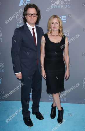 Stock Image of David Guggenheim and Elisabeth Shue