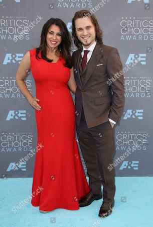 Stock Image of Lisa Vultaggio and Jonathan Jackson