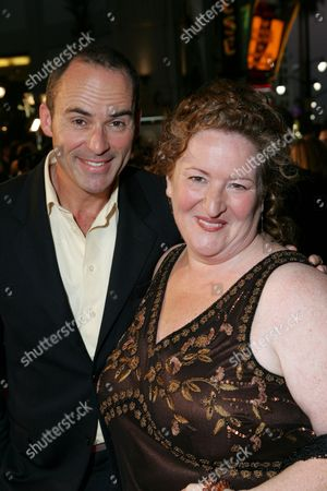 Stock Picture of Mark Derwin and Rusty Schwimmer