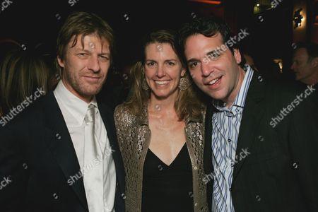 Sean Bean, Clara Bingham & Michael Seitzman