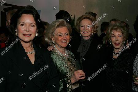 Jolene Brand, Barbara Davis, Barbara Sinatra and Anne Douglas